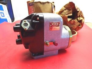 Wico Magneto Xh 184 Model X Nos Case Cat Ihc Wisconsin Ac Farmall Massy Harris
