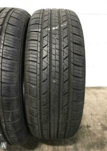 2x P215 55r17 Milestar Ms932 Sport 9 32 Used Tires