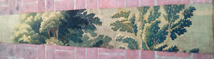 A Long Antique Verdure Tapestry Border