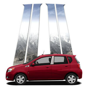 4p Pillar Post Covers Fits 2009 2018 Chevy Aveo Hatchback By Brighter Design