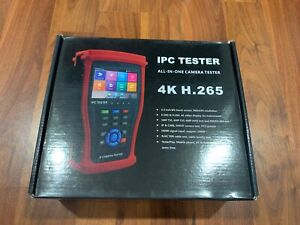 Hdview 5 in 1 Touchscreen Poe Cctv Tester New