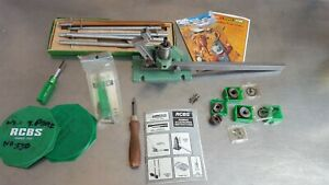 RCBS VINTAGE  AUTOMATIC BENCH PRIMING TOOL & EXTRAS
