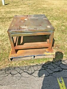 Steel Fab Machine Welding Layout Table Work Bench 39 x33 x22 1 1 2 Thick Top