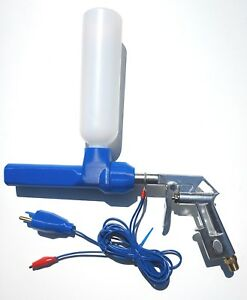 Powder Coating Gun System For Hobby User Tribo Powder Coat Spray Gun