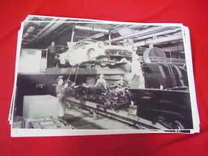1955 1956 Ford Thunderbird Assembly Line 11 X 17 Photo Picture