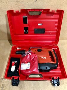 Hilti Te 60 Avr With Case And Bits