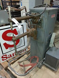 Stryco Spot Welder Model C2 18 20 Includes Chiller 20kva Spotwelder Sansonnw