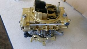 Holley Race Carb 9776 450 Cfm Tunnel Ram Dual Quad With Live Testing