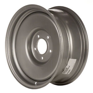 99022 Reconditioned Steel Wheel 17 X 7 5 Medium Silver Sparkle Full Face Painted