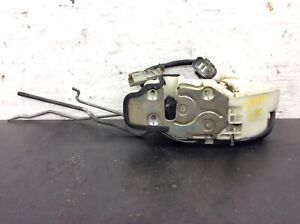 90 91 Accord 4dr Lx Ex Se Left Front Door Latch Pwr Lock Assy Used Oem