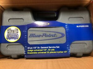 New Blue point 33pc 1 2 Drive General Service Set Blpgss1233
