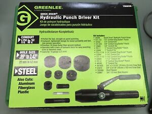 Greenlee 7806 sb Quick Draw Hydraulic Punch Driver Kit Conduit Size Punches