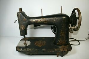 1899 Standard Slim Rotary Treadle Sewing Machine Selling As Is Very Rare