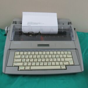 Brother Sx 4000 Electronic Typewriter W Lcd Display