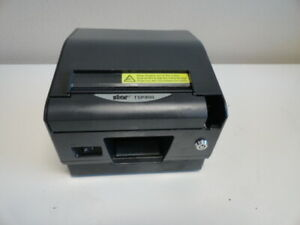 Lot Of 2 Star Tsp800 Thermal Pos Wide Receipt Printer Ethernet Rx Printer
