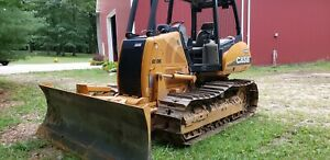 Bulldozer Case 630k 10 Ft Blade 6 Way Low Hours Only Used To Dig A Pond