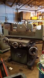 Covel Hyd Surface Grinder 14 X 24 Chuck No Rectifier Machine Runs