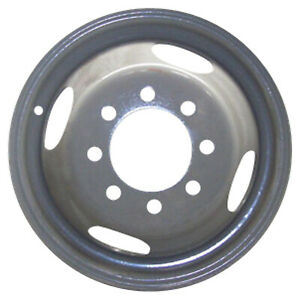 02130 Oem Reconditioned Silver Steel Wheel 16x6 Fits 2000 2002 Dodge Ram 3500