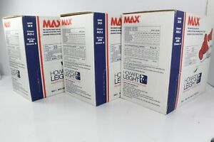 Howard Leight Max Uncorded Tapered Ear Plugs 3 Box Of 600 Soft No Cord Plugs