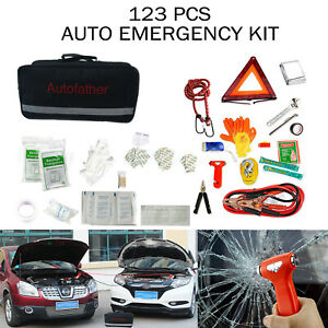 Emergency Car Safety Kit Complete Roadside Rescue Assistance Survival Tools Kits