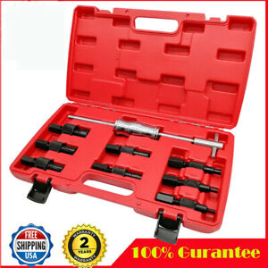 9x Inner Bearing Puller Set Remover Slide Hammer Internal Kits 8 32mm Blind Hole