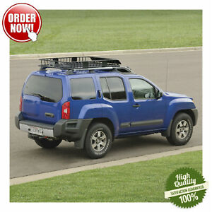 Universal Cargo Carrier Rack Cross Bar Car Suv Roof Top Basket Luggage Extension