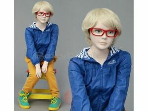 Child Fiberglass Cute Realistic Mannequin Dress Form Display mz ita4