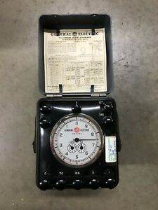 General Electric Type 1b 10 Portable Watthour Meter Standard Test Unit