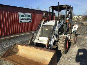 2005 Bobcat B300 4x4 Compact Tractor Loader Backhoe Only 1900 Hours