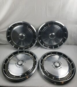 1972 Ford Mustang 14 Hubcaps 1971 1973
