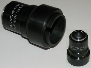 Microscope C mount To Eyepiece Adapter 67x Relay Lens When Used With 10x Ocular