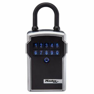 Master Lock Lock Box Electronic Portable Key Safe W personal Software Platform