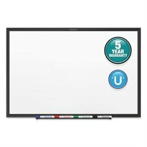 Classic Series Magnetic Whiteboard 96 X 48 Black Aluminum Frame