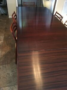 Danish Modern Dining Table H Sigh Sons Eames Period