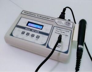 Portable 3 Mhz Ultrasound Therapy Unit Lcd Machine Physiotherapy Ultrasound Aioy