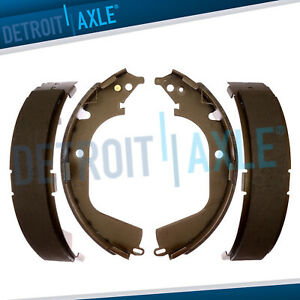 Rear Ceramic Brake Shoes 2009 2010 2013 Chevy Silverado 1500 Gmc Sierra 1500