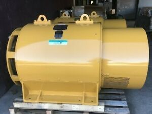 800 Kw Used Kato 277 480v 1200 Rpm 60 Hz 00 Housing Generator End S n 10122 02