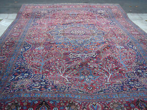 A Large Antique Area Rug