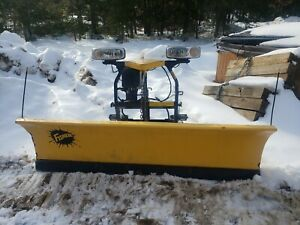 7 5 Foot Fisher Minute Mount 2 Plow Sd Mm2 7 6