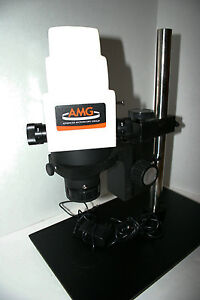 Fisher Amg Ams mv2 Zoom Digital Microscope 3x To 120x Range Micron 2