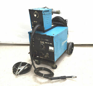 Ck Systematics Mig 140 Sms Welder Wire feed Fw 112 Cart 115vac Portable