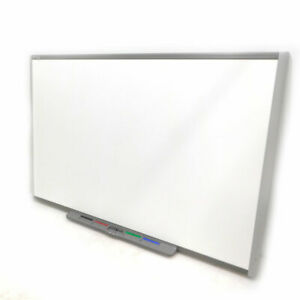 Smart Technologies Sb685 87 Inch 16 10 Wide Interactive Smartboard W Pen Tray