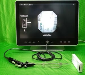 Gyrus Acmi Idh 4 Invisio Hysteroscope With Ids 1800 Digital Controller Monitor
