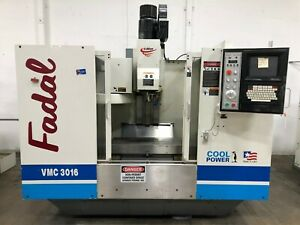 Fadal Vmc 3016ht Cnc Vertical Machining Center Mill Model 904 1 1998