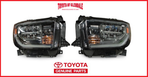 2018 2019 Toyota Tundra Trd Sport Led Frnt Headlight Set 81150 0c210 81110 0c210
