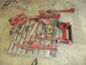 International Farmall 856 Complete Used Working Fast Hitch Nice One Free Ship