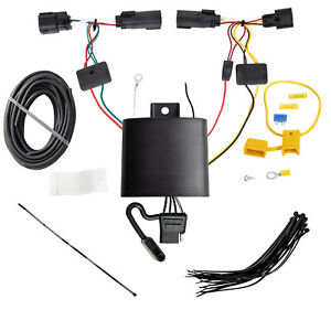 Tekonsha 4 Flat Trailer Hitch Tow Wiring For 2019 Jeep Cherokee 118779