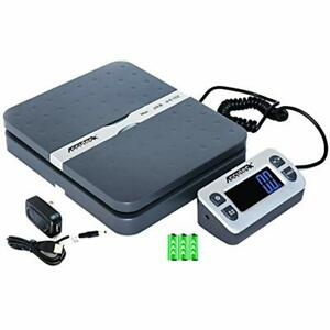 Postal Scales Accuteck Shippro 110lbs X 0 1 Oz Digital Shipping Scale Gray