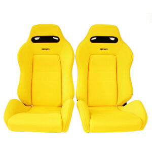 2 Jdm Recaro Sr3 Dc2 Reclinable Bucket Racing Front Seats Mustang Bmw Cars Sale