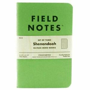 Notebooks Writing Pads Field Notes Shenandoah Special Edition Graph Memo Fall